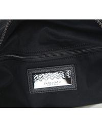 Zanellato Black Dollarone Leather Bag for men