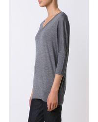 Derek Lam - Gray Dolman Sleeve Sweater - Lyst