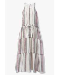 Derek Lam - Multicolor Tie Front Dress - Lyst