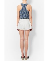 Derek Lam - White Horn Toggle Short - Lyst