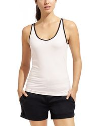 Derek Lam | White Layer Up Fitted 2 Tank | Lyst