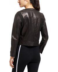 Derek Lam - Black Sleek Leather Jacket - Lyst