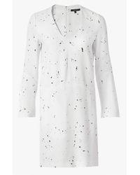 Derek Lam - White Splatter Print Dress - Lyst