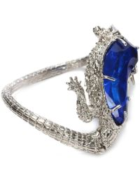 Alexander McQueen Blue Salamander Bracelet