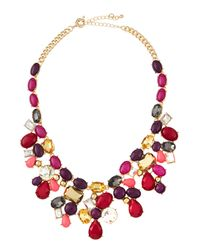 Fragments | Multicolor Garden Bib Necklace | Lyst