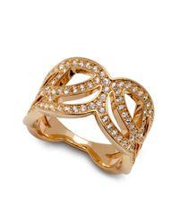 Swarovski - Metallic Clear Crystal Protect Ring - Lyst