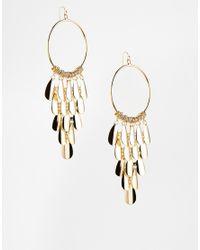 ALDO - Metallic Liendo Drop Disc Earrings - Lyst