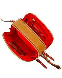 Dooney & Bourke | Brown Sawyer Leather Crossbody Bag | Lyst