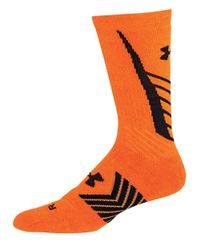 Under Armour | Black Undeniable Crew Socks for Men | Lyst