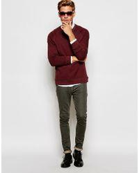 SELECTED | Brown Sweatshirt With Raglan Sleeves for Men | Lyst