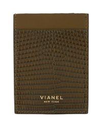 Vianel Green Lizard V1 Card Case for men