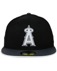 KTZ | Black Los Angeles Angels Of Anaheim G-flip 59fifty Cap for Men | Lyst