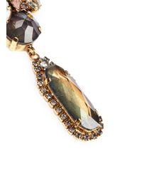 Erickson Beamon | Multicolor 'sound Garden' Crystal Cluster Drop Earrings | Lyst