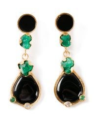 Paula Mendoza | Black Amelie Earrings | Lyst