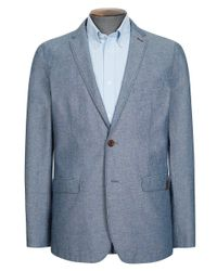 Ben Sherman - Blue Flecked Chambray Blazer for Men - Lyst