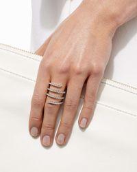 Staurino Fratelli | Metallic Magic Snake 18k White Gold Diamond Ring | Lyst