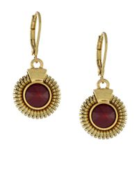 Vince Camuto | Metallic Belle Of The Bazaar Stone Drop Earrings | Lyst