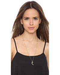 Jennifer Zeuner | Metallic Everly Necklace - Gold | Lyst