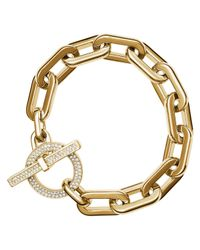Michael Kors - Metallic City Link Toggle Bracelet - Lyst