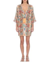 Lazul | Multicolor Rhea Silk Tunic | Lyst