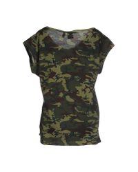 Adidas Originals - Green T-shirt - Lyst