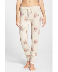 All Things Fabulous | Natural 'skinnies' Print Lounge Pants | Lyst