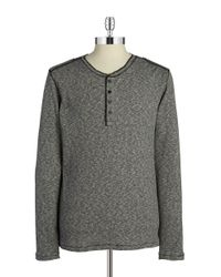 DKNY | Black Textured Knit Top for Men | Lyst