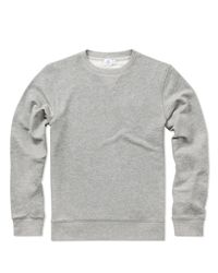 Sunspel | Gray Men's Loopback Cotton Sweatshirt for Men | Lyst