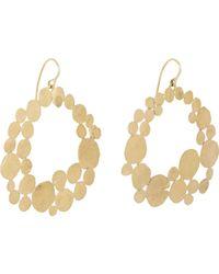 Judy Geib - Metallic Gold Squash Hoop Earrings Size Os - Lyst
