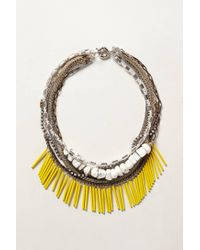 Anthropologie | Metallic Elotes Layered Necklace | Lyst