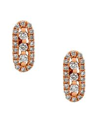 Bony Levy Pink Diamond Bar Stud Earrings (nordstrom Exclusive)