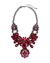 H&M - Purple Sparkly Stone Necklace - Lyst