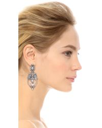 Samantha Wills | Metallic World From Here Grand Earrings - Silver | Lyst