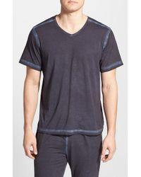 Daniel Buchler | Blue Powder Wash Peruvian Pima Cotton T-Shirt for Men | Lyst