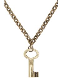 DSquared² | Blue Turquoise Cross Three_tier Necklace | Lyst
