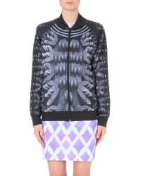 Mary Katrantzou - Multicolor Graphic-Print Jersey Jacket - For Women - Lyst