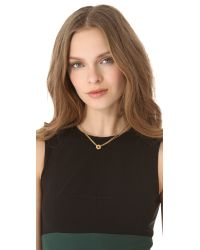Marc By Marc Jacobs Metallic Tiny Bolts Necklace - Oro