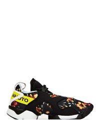 Y-3 - Black Unisex Graphic Kohna Sneakers for Men - Lyst
