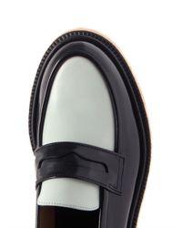 Adieu Black Type 5 Bicolour Leather Loafers