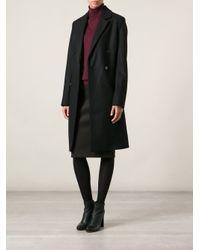 D.Efect Black 'Audra' Coat