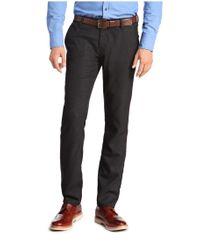 BOSS Orange Blue 'sairy-w'   Slim Fit, Stretch Viscose Textured Chinos for men