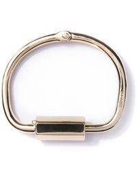 Miansai | Metallic Polished Naomi Brass W/ Brass Bracelet for Men | Lyst