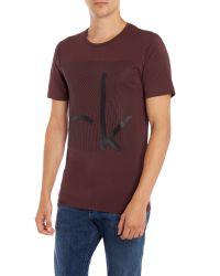 Calvin Klein | Brown Tasinge T-shirt for Men | Lyst