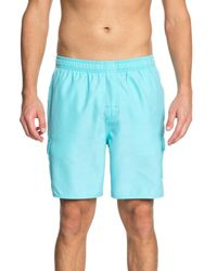 Quiksilver Blue Alance Volley Board Shorts for men