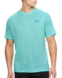 Under Armour - Blue Tech T-shirt for Men - Lyst