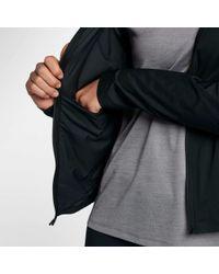 Nike - Black Shield Convertible Running Jacket - Lyst