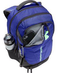 Under Armour Purple Hustle 3.0 Backpack for men