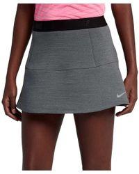 Nike Gray Pleated Golf Skort