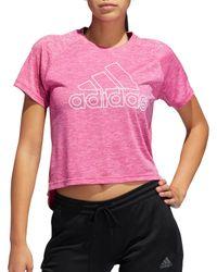 Adidas Pink Sport 2 Street Prize T-shirt