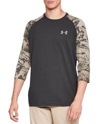 Under Armour Gray Ridge Reaper Hunting Long Sleeve Shirt for men